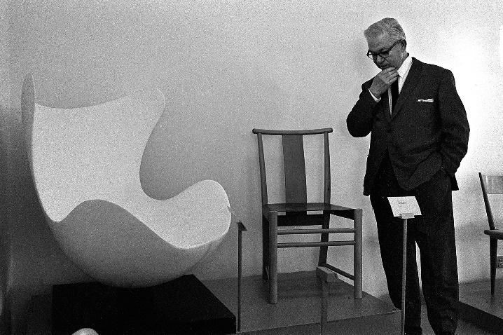 Le fauteuil Egg de Arne Jacobsen