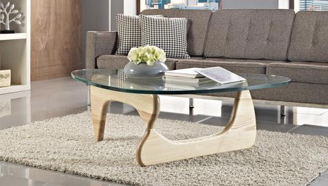 Table basse design Noguchi
