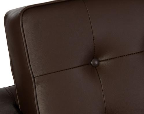 canapé de luxe marron