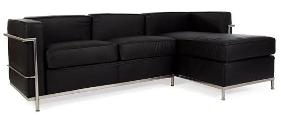 canapé de qualité noir