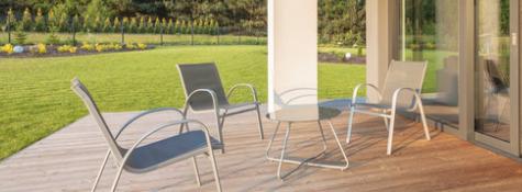 Les chaises d'extérieur