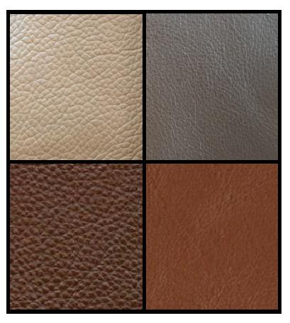 couleurs de cuir utilisées par famous-design