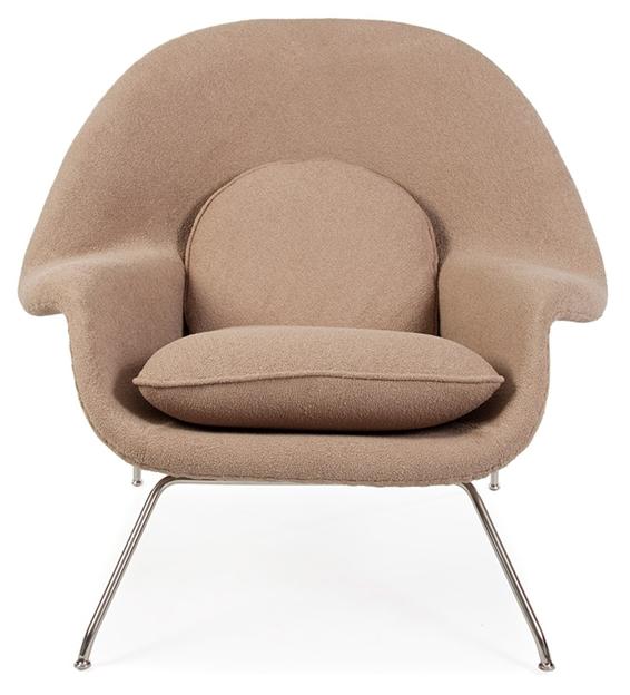 Le Fauteuil Womb de Charles Eames