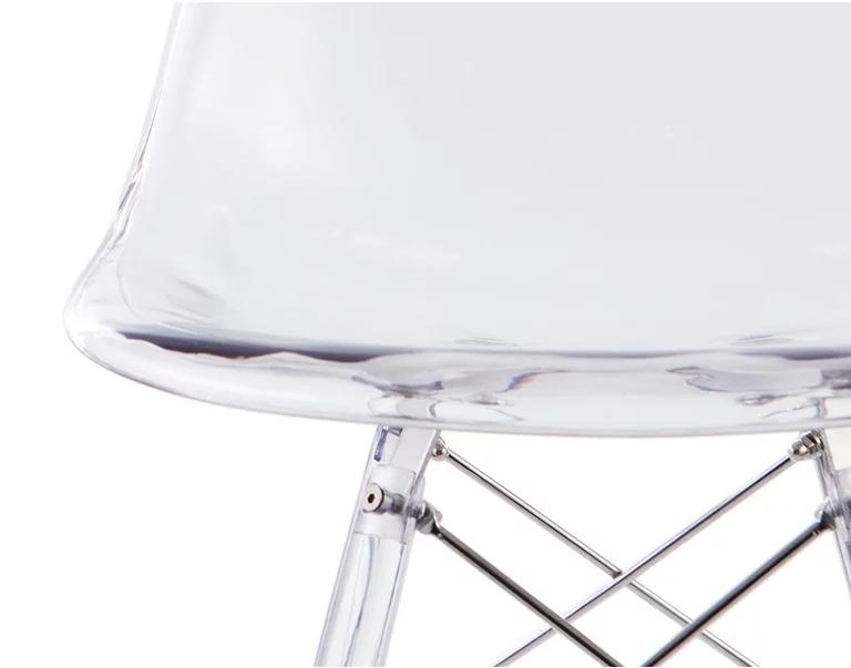 Le polycarbonate des chaises DSW
