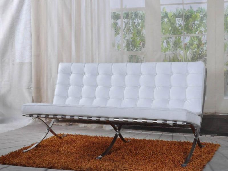 Image de l'article Canapé Barcelona 2 places - Blanc