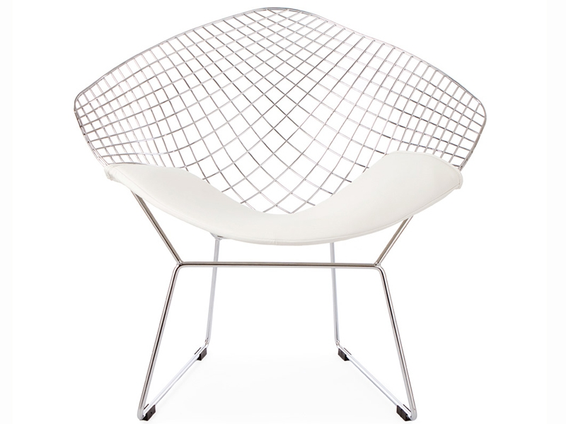 Image de l'article Chaise Bertoia Wire Diamond - Blanc