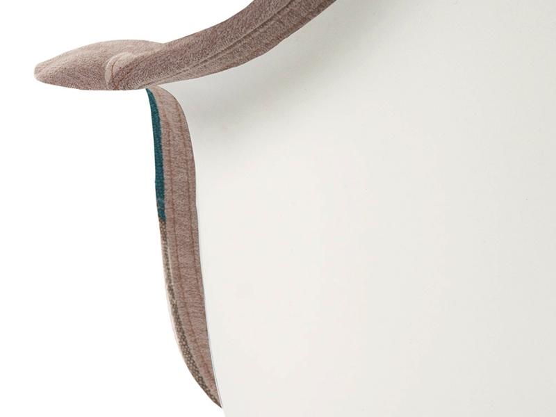 Image de l'article Chaise DAR rembourrée - Patchwork bleu