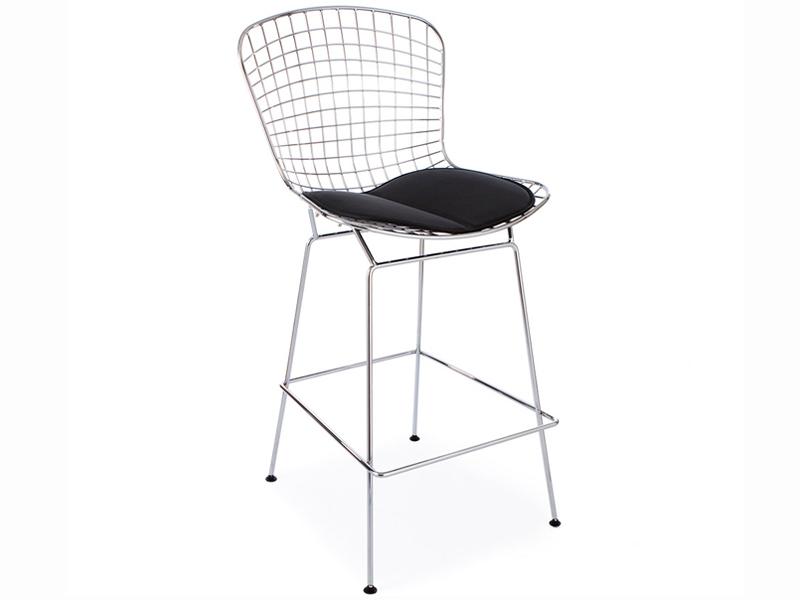 Chaise de bar bertoia wire for Bertoia chaise prix