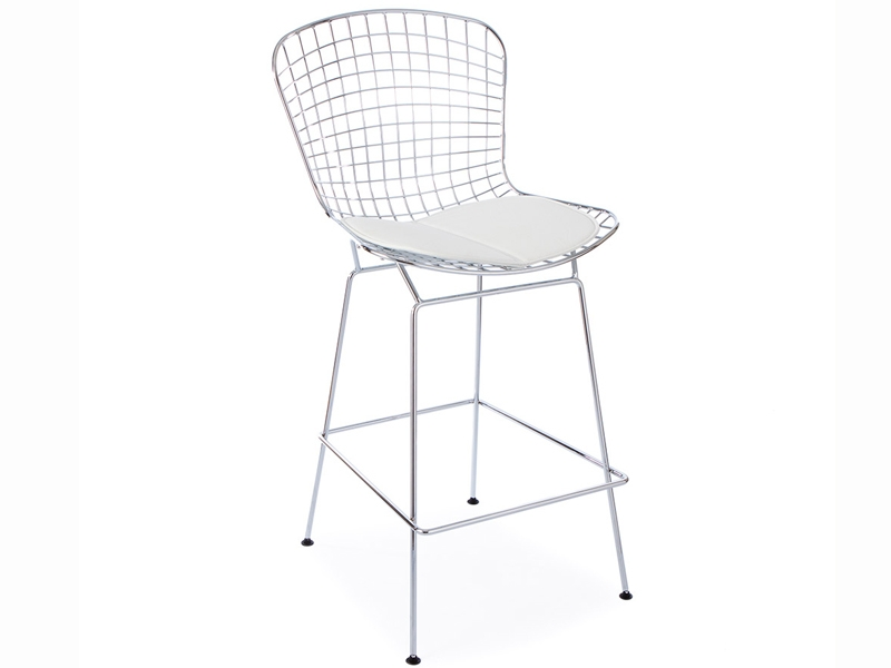 Chaise de bar bertoia wire for Bertoia chaise prix