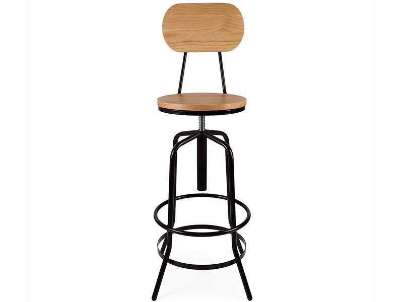chaise chaise de bar design industriel loft apollo. Black Bedroom Furniture Sets. Home Design Ideas