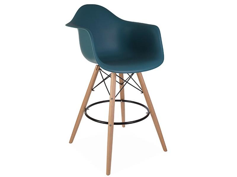 chaise de bar dab bleu vert. Black Bedroom Furniture Sets. Home Design Ideas