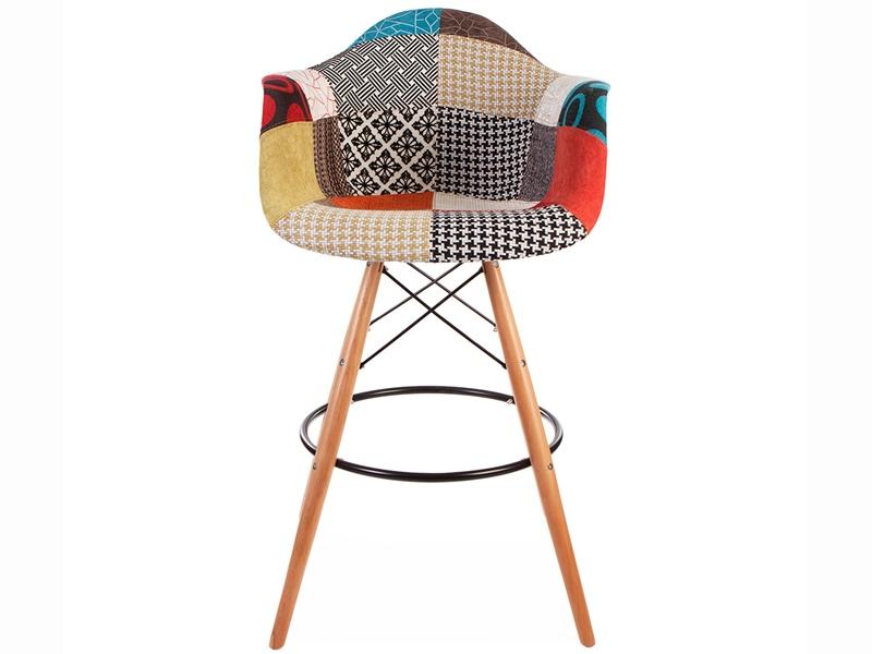 chaise de bar dab patchwork. Black Bedroom Furniture Sets. Home Design Ideas