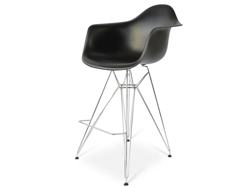 Chaise de bar DAR - Noir