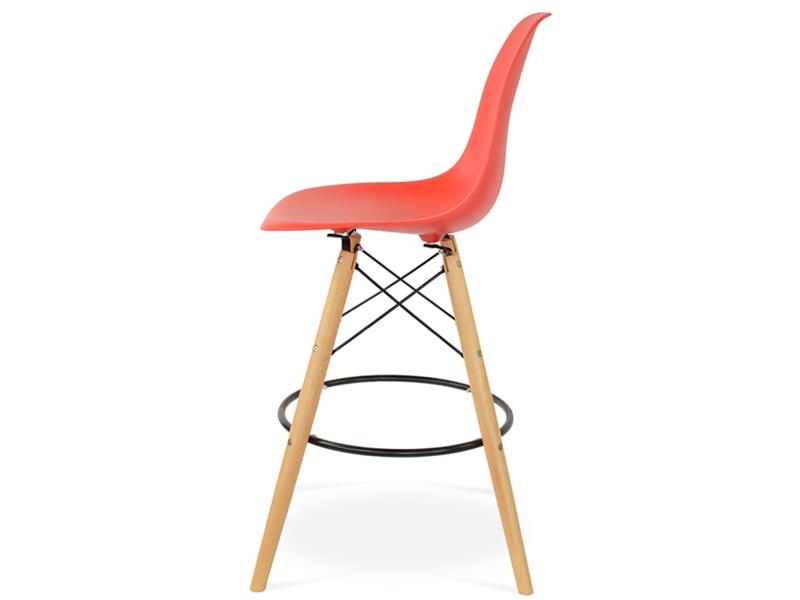 chaise de bar dsb rouge vif. Black Bedroom Furniture Sets. Home Design Ideas