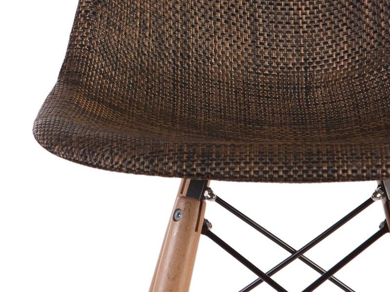 Image de l'article Chaise de bar DSB Texture - Cacao