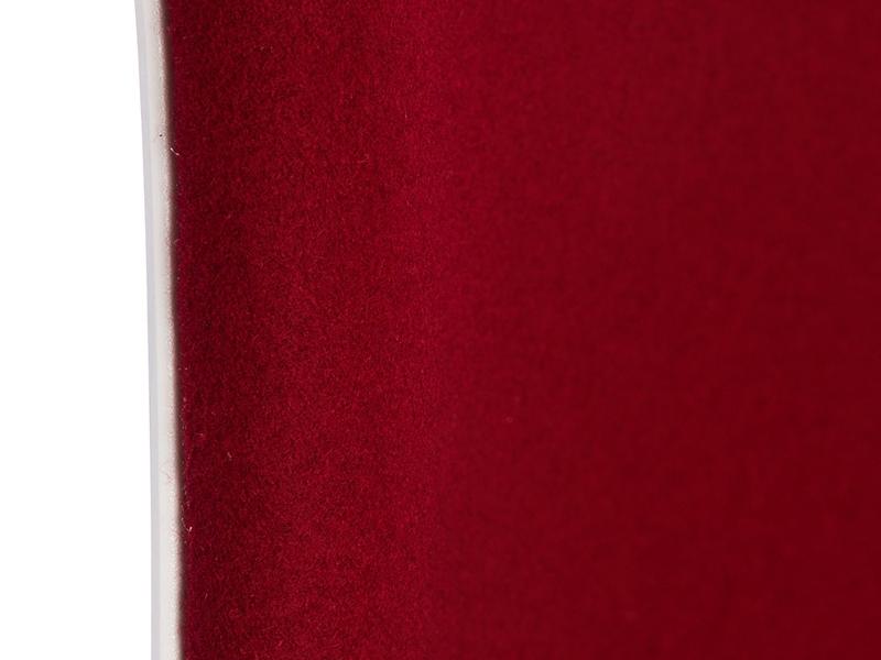 Image de l'article Chaise DSR rembourrée laine - Rouge