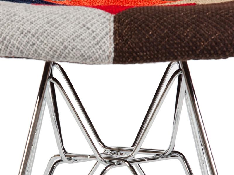 Image de l'article Chaise DSR rembourrée - Patchwork