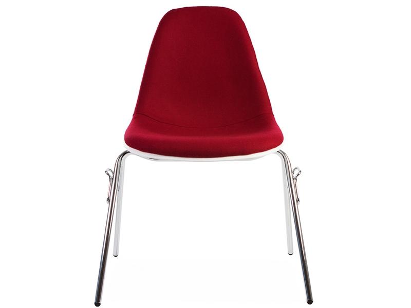 Image de l'article Chaise DSS empilable rembourrée - Rouge