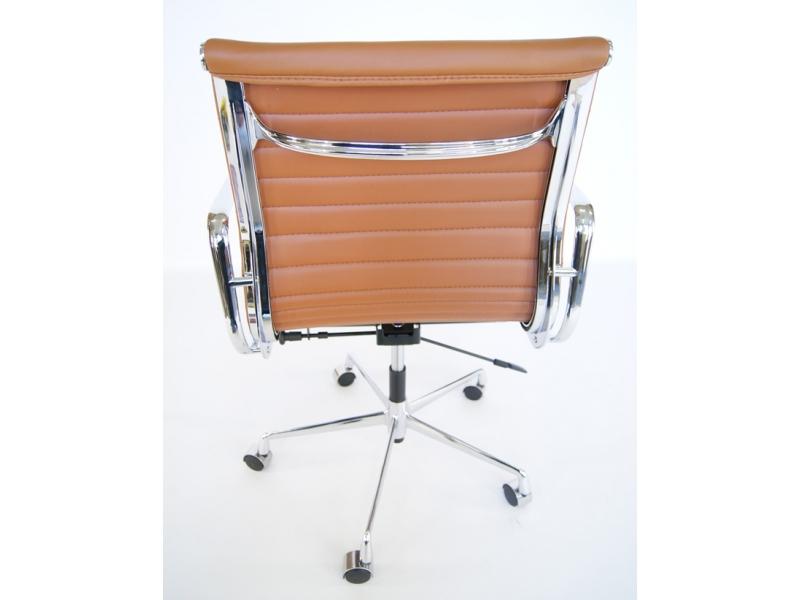 chaise eames alu ea117 caramel. Black Bedroom Furniture Sets. Home Design Ideas