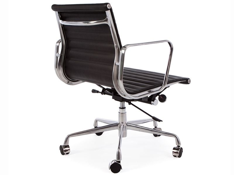 chaise eames alu ea117 noir. Black Bedroom Furniture Sets. Home Design Ideas
