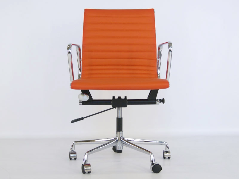 Chaise eames alu ea117 orange - Chaise de bureau eames ...