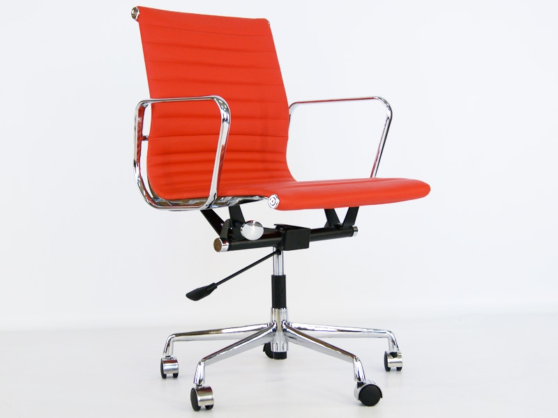Chaise eames alu ea117 rouge for Chaise eames rouge
