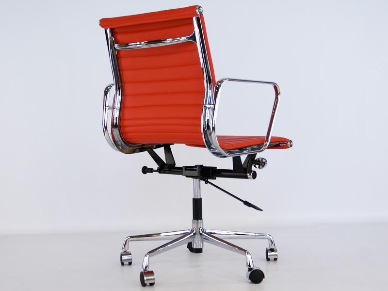 chaise eames alu ea117 rouge. Black Bedroom Furniture Sets. Home Design Ideas