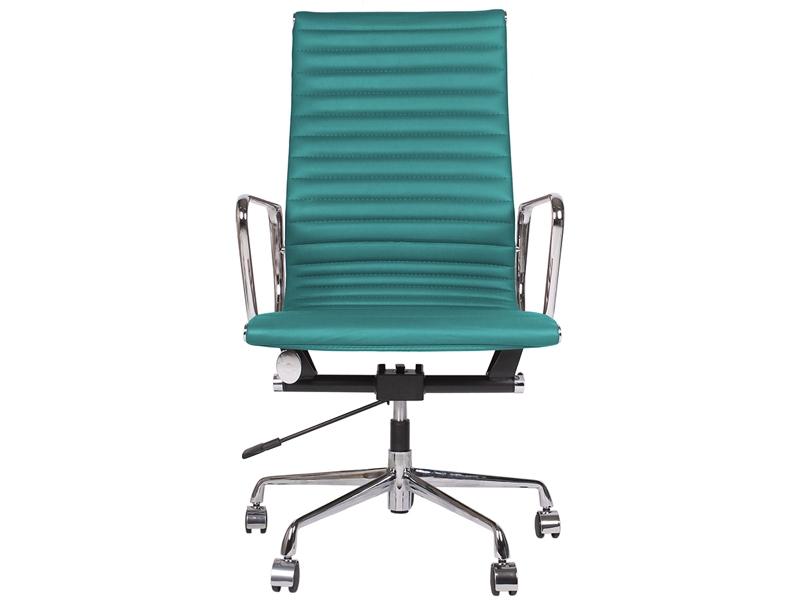 Chaise eames alu ea119 bleu for Chaise eames bleu petrole