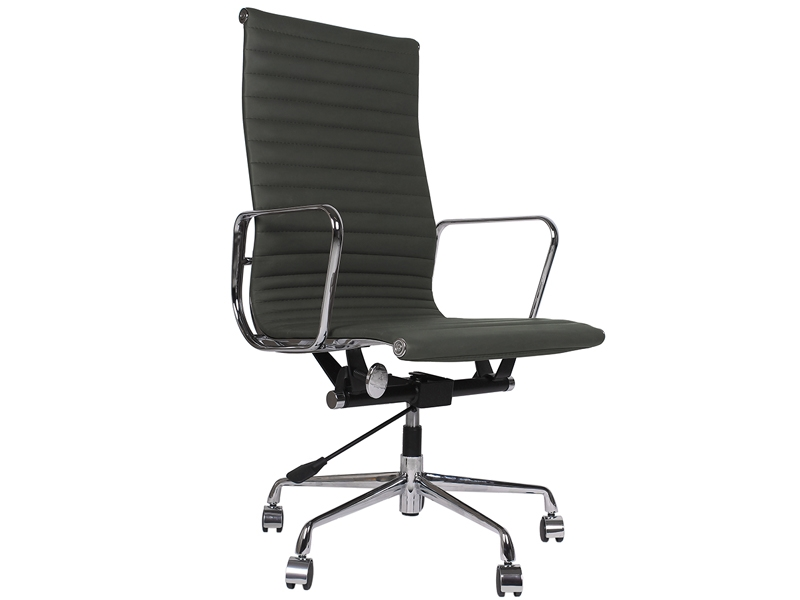 chaise eames alu ea119 gris. Black Bedroom Furniture Sets. Home Design Ideas