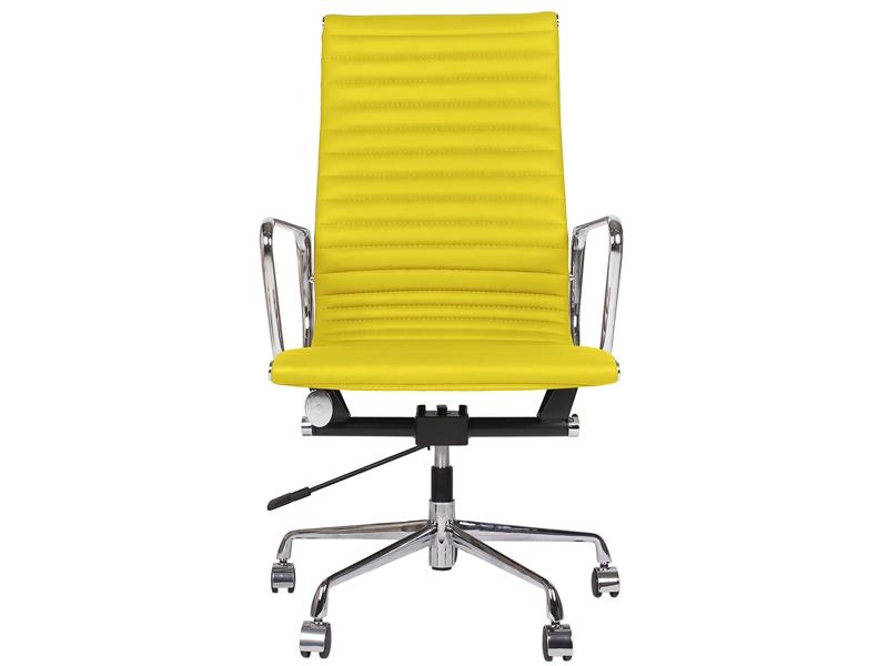 chaise eames alu ea119 jaune. Black Bedroom Furniture Sets. Home Design Ideas