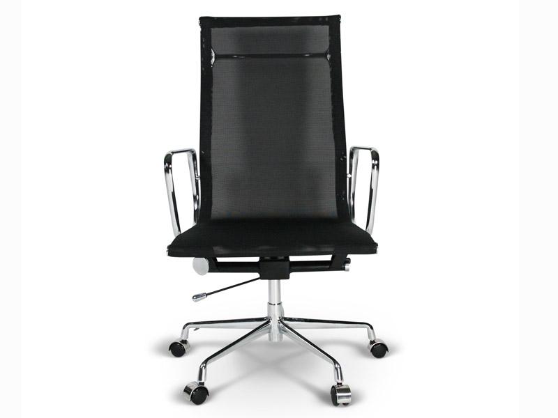 chaise eames alu ea119 noir. Black Bedroom Furniture Sets. Home Design Ideas