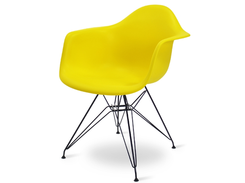 Image de l'article Chaise Eames DAR - Jaune citron