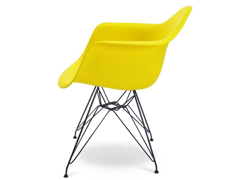 Chaise dar jaune for Chaise jaune design