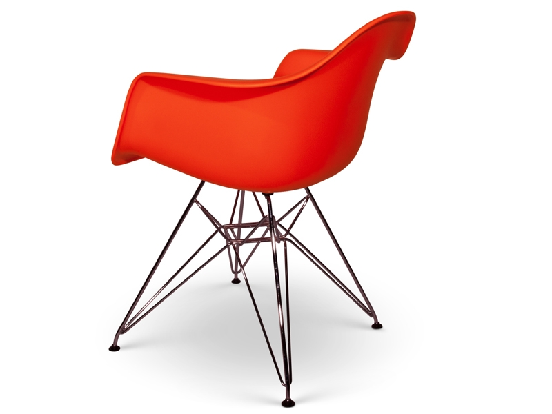 Chaise dar orange - Bar moderne a new york avec design en forme de bulle ...