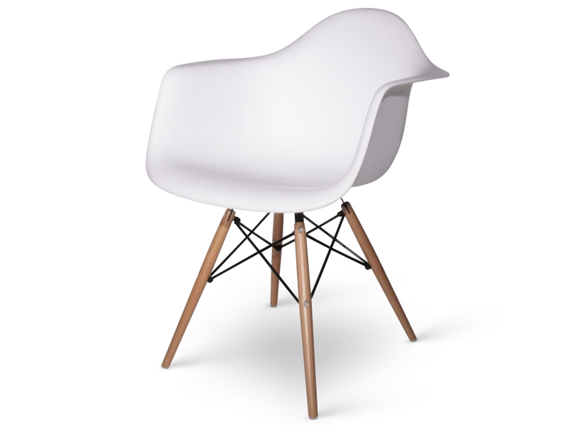 Reproduction chaise daw blanche charles eames copie for Reproduction fauteuil charles eames
