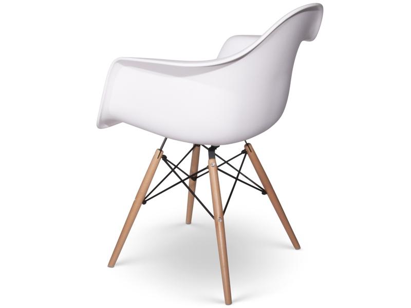 chaise daw blanc. Black Bedroom Furniture Sets. Home Design Ideas
