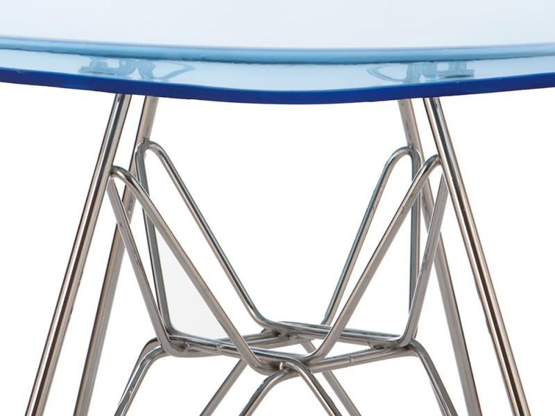 Image de l'article Chaise Eames DSR - Bleu transparent