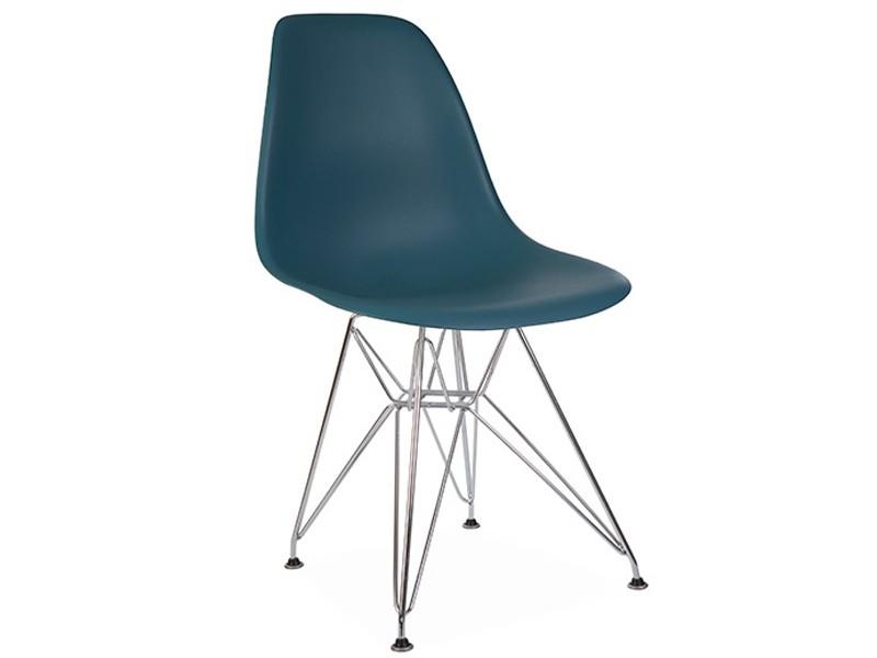 Chaise dsr bleu vert for Chaise eames bleu
