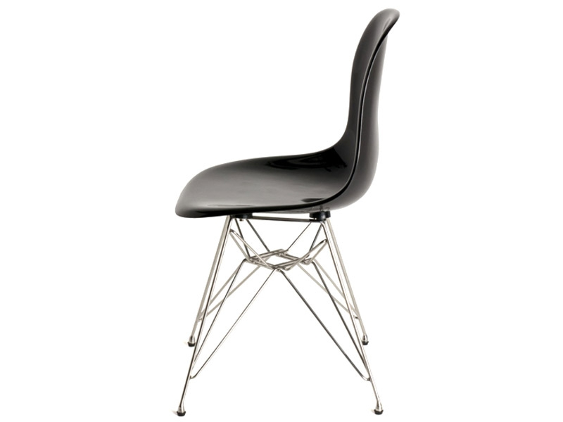 Image de l'article Chaise Eames DSR - Noir brillant
