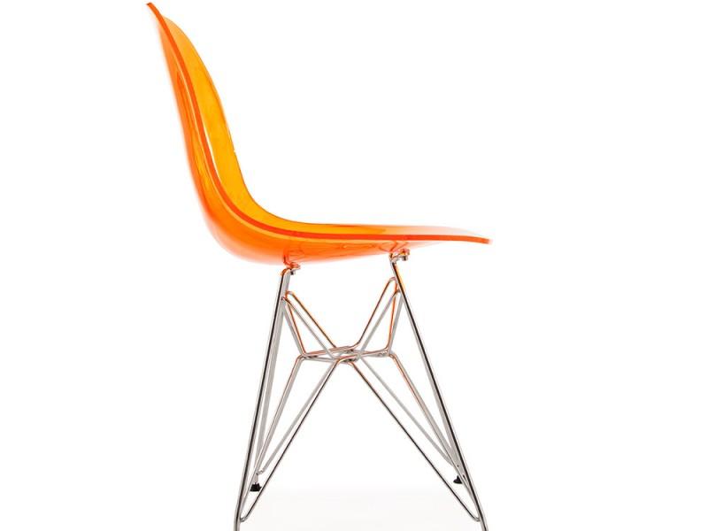 Image de l'article Chaise Eames DSR - Orange transparent