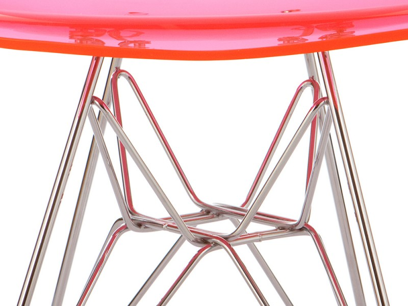 Image de l'article Chaise Eames DSR - Rose transparent