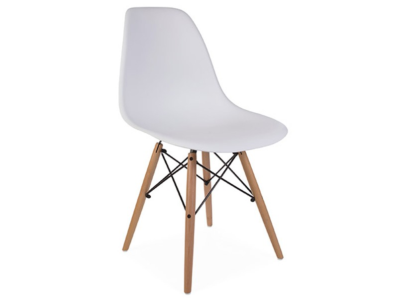 Chaise dsw blanc for Chaise eames dsw blanc