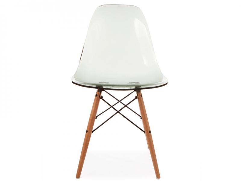 chaise dsw gris transparent. Black Bedroom Furniture Sets. Home Design Ideas