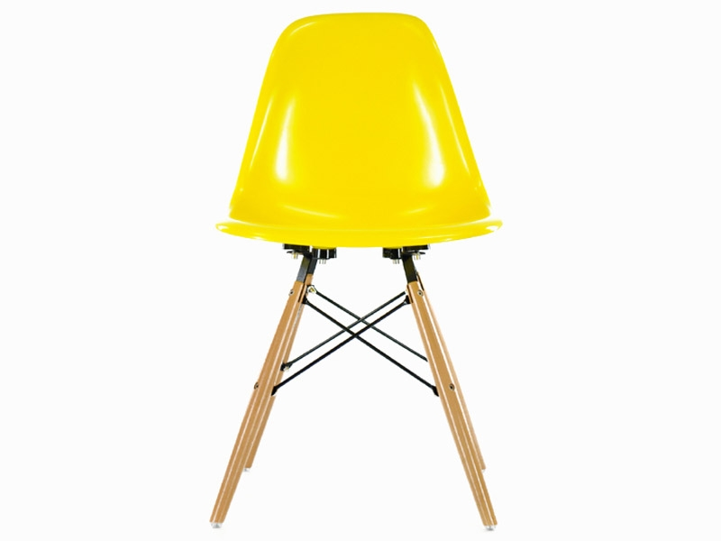 Image de l'article Chaise Eames DSW - Jaune brillant