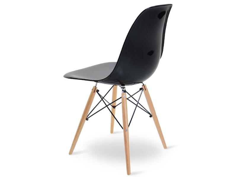 Image de l'article Chaise Eames DSW - Noir brillant