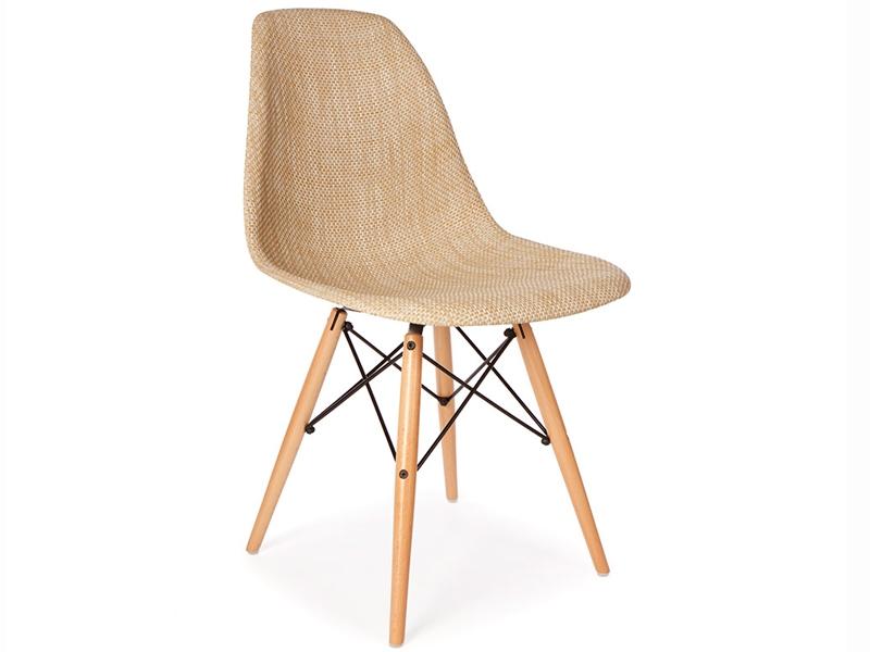 Chaise dsw texture beige - Chaise de bureau beige ...