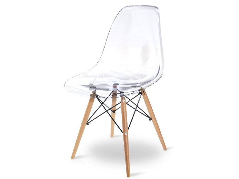 Image de l'article Chaise Eames DSW - Transparent