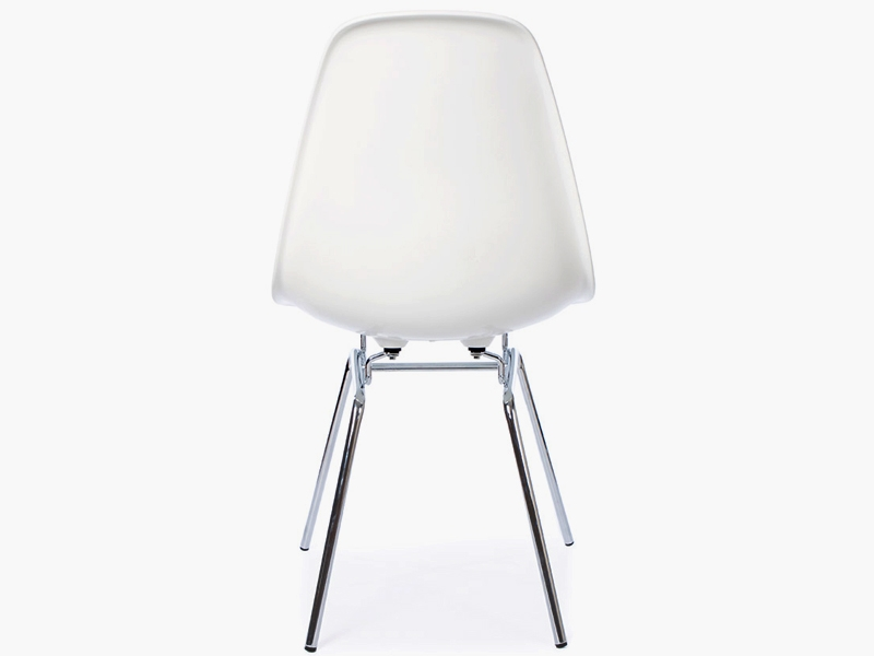 Chaise eames dsw blanc for Chaise eames blanche