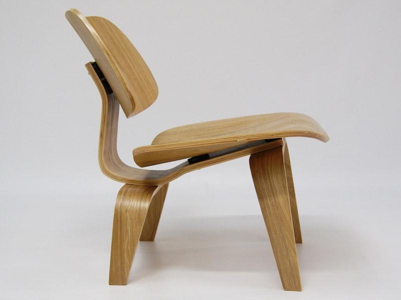 chaise eames lcw ch ne clair. Black Bedroom Furniture Sets. Home Design Ideas