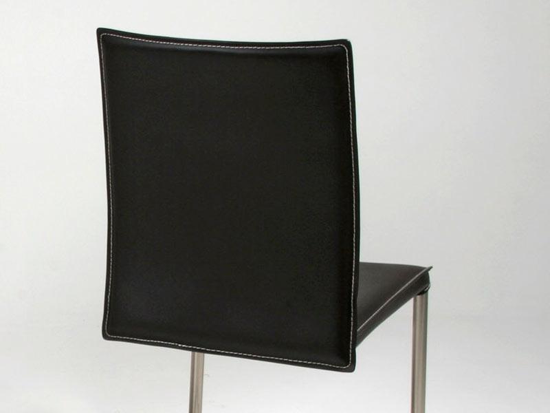 Image de l'article Chaise en Cuir COSTA SWING - Noir